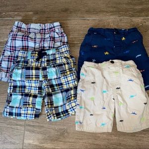 4 Pairs of 4T Shorts